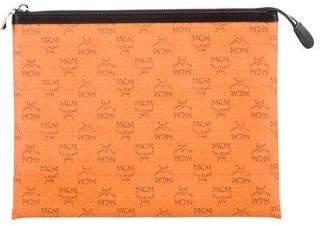 MCM Logo Leather Technology Case