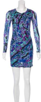 Torn By Ronny Kobo Printed Pleated Dress