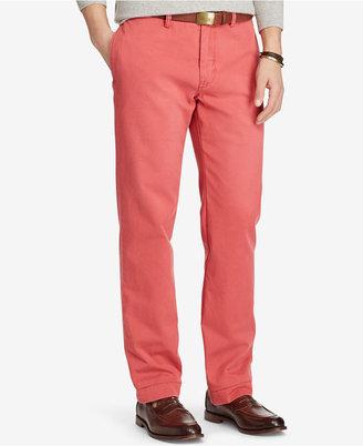 Polo Ralph Lauren Men's Classic-Fit Chino Pants $85 thestylecure.com