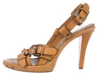 Barbara Bui Leather Multistrap Sandals