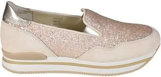 Hogan H222 Platform Slip-on Sneakers