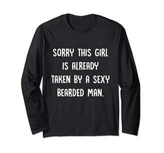 Women Girl Is Taken By A Sexy Bearded Man Sweatshirt