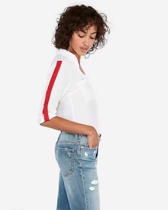 Express Athletic Stripe Portofino Shirt