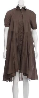 AllSaints Shift Midi Dress
