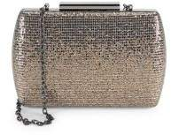 La Regale Glitter Minaudi Crossbody Bag