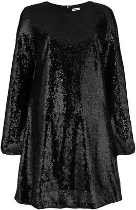 P.A.R.O.S.H. sequin flared dress
