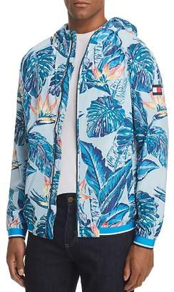 Tommy Hilfiger Botanical-Print Hooded Jacket