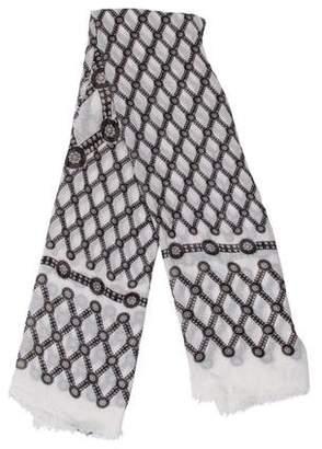 Alexander McQueen Woven Printed Scarf