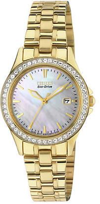 Citizen Ladies' Eco-Drive Swarovski Crystal Bracelet Watch