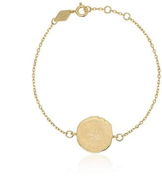 Anni Lu From Paris 18K gold-plated silver chain bracelet