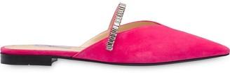 Prada embellished band slippers