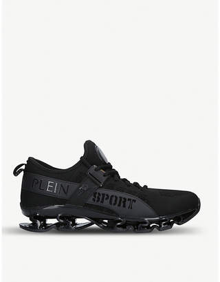 Philipp Plein Sniper knitted trainers