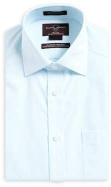 Black & Brown Black Brown Classic-Fit Non Iron Striped Dress Shirt