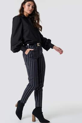 Rut & Circle Rut&Circle Malin Stripe Pant Blue Combo