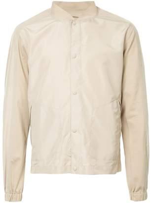 Cerruti snap button bomber jacket