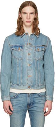 Nudie Jeans Blue Denim Billy Jacket $250 thestylecure.com