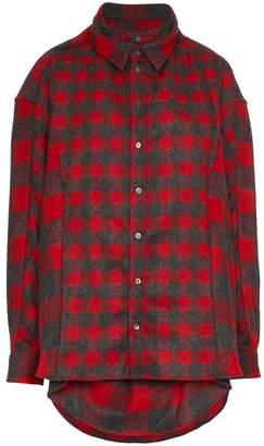 Y/Project Y / Project double front lumberjack shirt