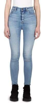 Taverniti So Ben Unravel Project High-Waist Fade Skinny Jeans