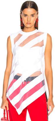 Marques Almeida Marques ' Almeida Devore Sleeveless T Shirt