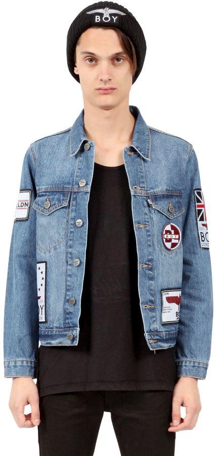 Boy Boyfriend Cotton Denim Jacket