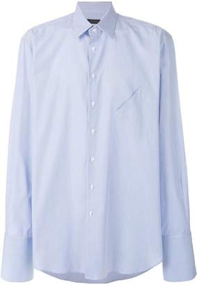 Inês Torcato angled chest pocket shirt