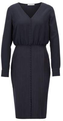 BOSS Hugo Pinstripe dress blouse-style upper section 12 Patterned