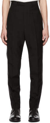Rick Owens Black Tux Astaires Trousers