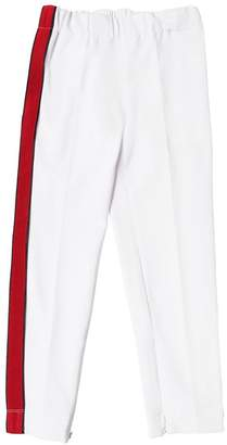 Cotton Sweatpants W/ One Side Band
