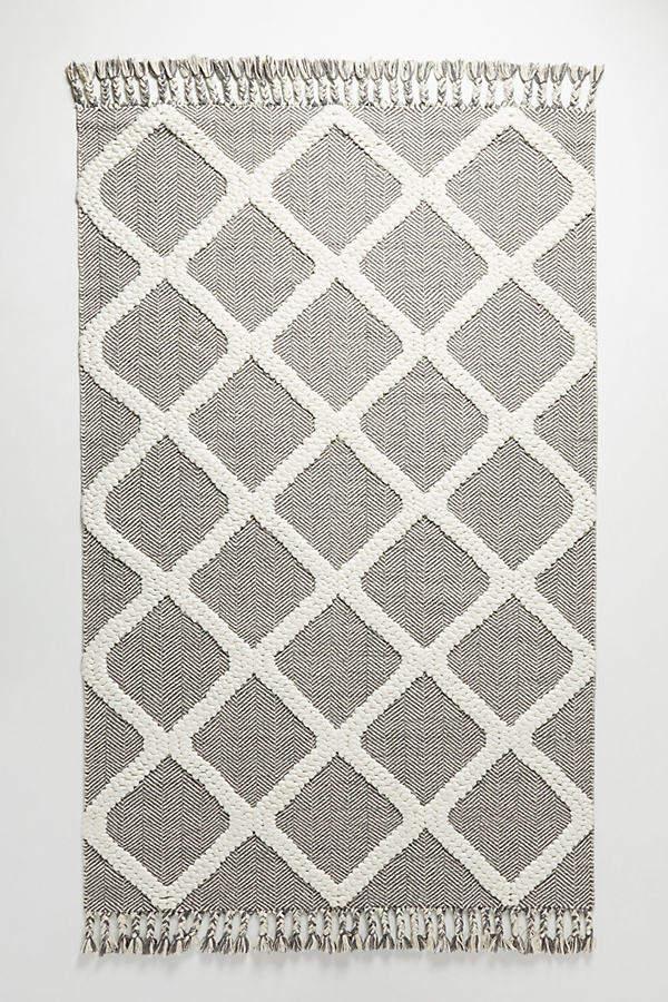 Marah Gewebter Teppich – Grey