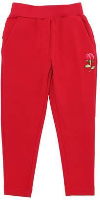 MonnaLisa Cotton Sweatpants With Patch Detail
