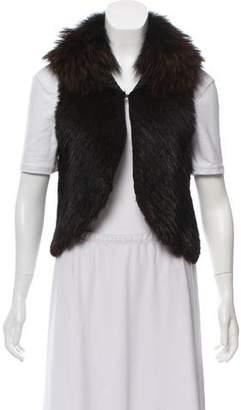 J. Mendel Muskrat & Raccoon Fur Jacket