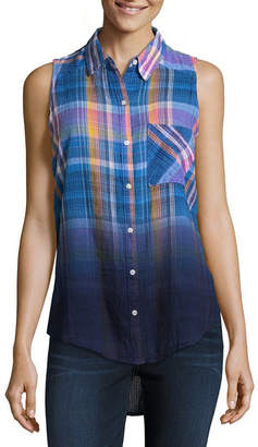 A.N.A Modern Fit Sleeveless Button-Front Shirt