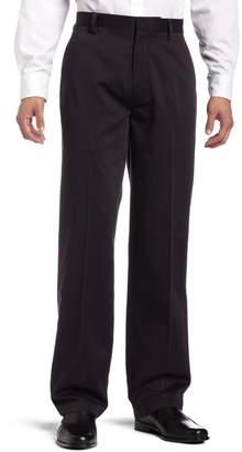 Dockers Never Iron Essential Khaki D3 Classic-Fit Flat-Front Pant
