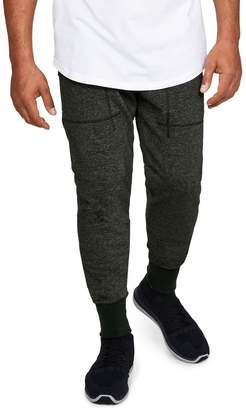Under Armour Men's Speckled Terry Cloth Jogger Pants