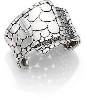 John Hardy Women's Kali Sterling Silver Overlap Cuff Bracelet