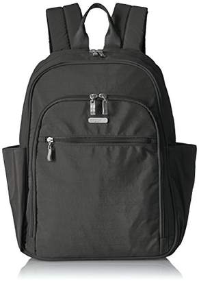 Baggallini Essential Laptop Backpack with RFID Messenger Bag