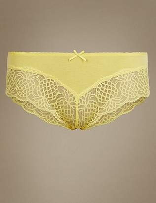 Marks and Spencer Louisa Lace No VPL Brazilian Knickers