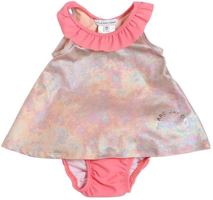 Iridescent Lycra Two Piece Swimsuit