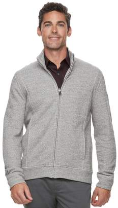 Marc Anthony Men's Slim-Fit Marled Mockneck Jacket