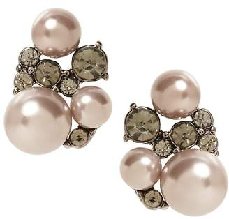 Banana Republic Stone and Pearl Stud Earring