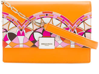 printed zip-around wallet - Yellow & Orange Emilio Pucci RCmbK