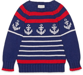 Children's sweater with anchor $460 thestylecure.com