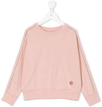 Bellerose Kids contrast piped trim sweatshirt