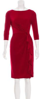 Lauren Ralph Lauren Knee-Length Long Sleeve Dress