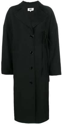 MM6 MAISON MARGIELA oversized single breasted coat