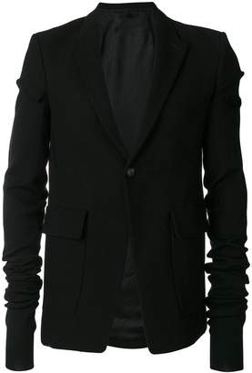 Rick Owens extra long sleeved jacket