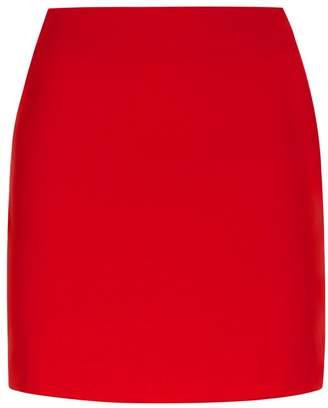 La Perla Essentials Red Bi-Stretch Cool-Wool Mini-Skirt
