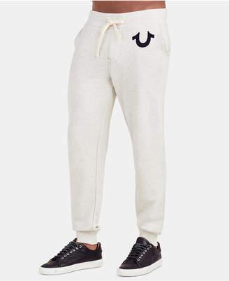 True Religion Men Classic Logo Jogger Sweatpants