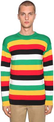 Loewe Striped Wool Knit Sweater