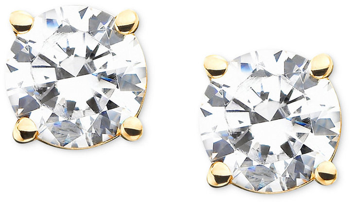 Diamond Stud Earrings in 14k Gold (1 ct. t.w.) Web ID: 313088